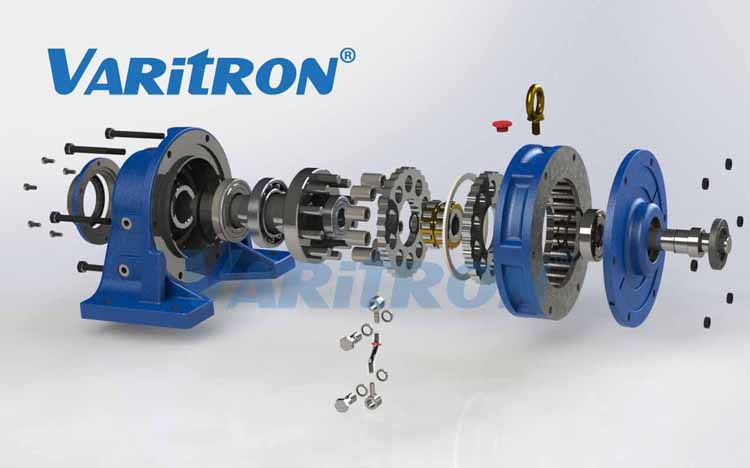 Hydraulic Drive Gearboxes : Varitron cyclo drive gear box speed reducer motor g