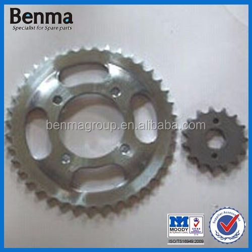 C100 BIZ duty Motorcycle chain sprockets for sale