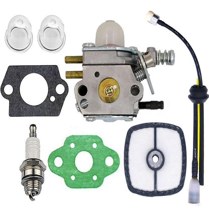 C/·T/·S Kit Guarnizione e diaframma per carburatore ZAMA GND-30 per ZAMA LA-S6 S7 S8 S9 carburatore Stihl 070 08 TS350S 090 Confezione da 2
