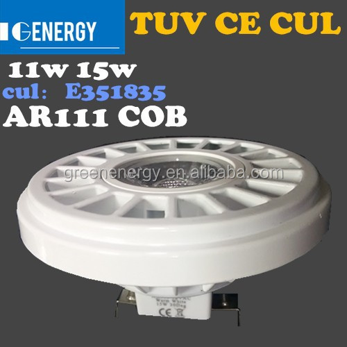 E351835 12 v 4500k 11w COB cool white 12v led qr111 spot g53