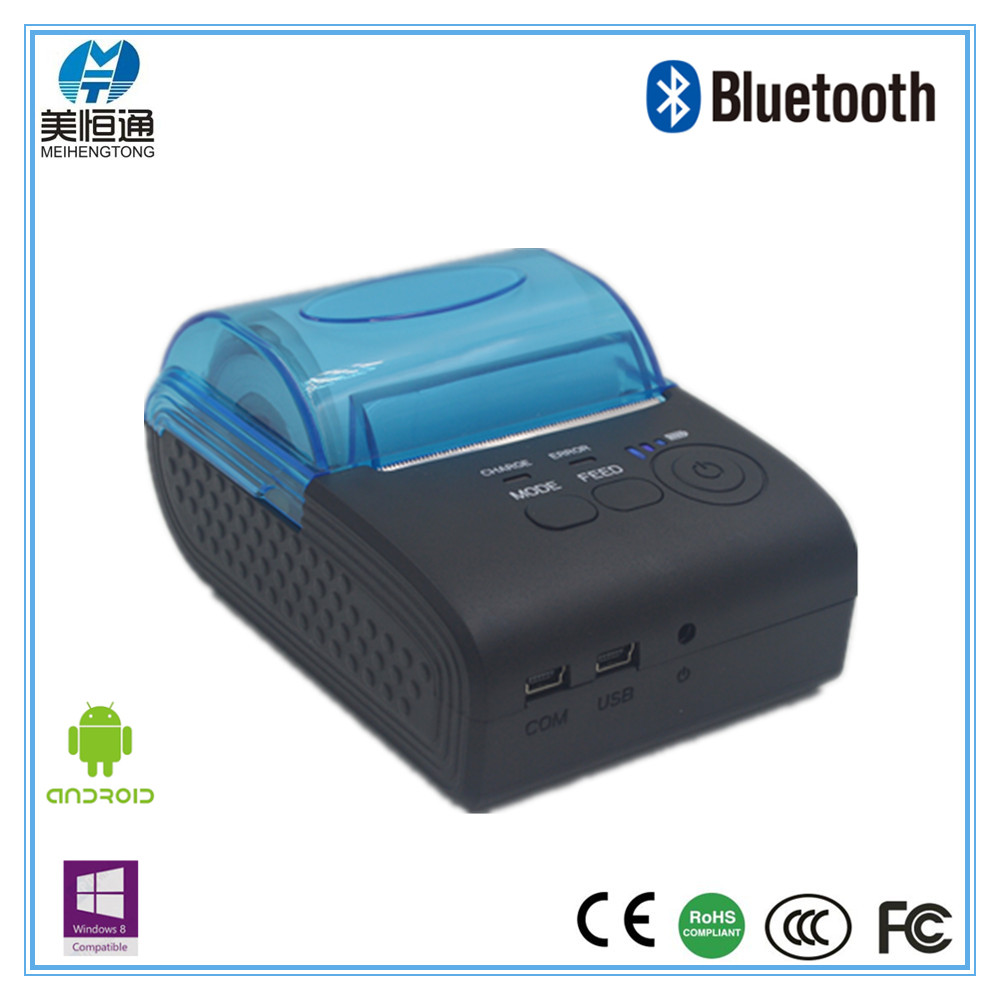 Portable Mobile Handheld Android IOS Bluetooth Thermal Ticket Printer Customized MHT-5805