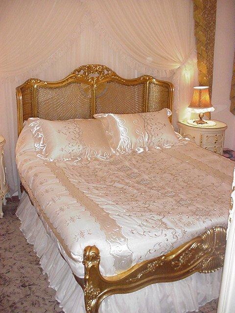 Luis xv castrado curvo cama de volta camas id do produto for Cama luis xv
