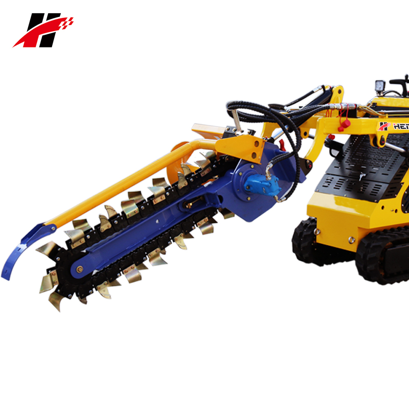 Bobcat Dingo Tractor Backhoe Trencher Attachments For Mini Skid Steer  Tracked Weel Loader - Buy Attachments For Skid Steer Loader,Bobcat