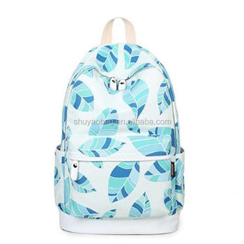 New Korean Style Canvas Backpack College Student School Bags Girls Leisure  bag fbbc4279a7f1