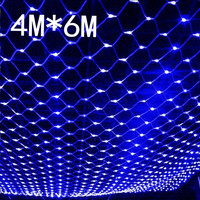 multi color 672 led tree net mesh fairy string light