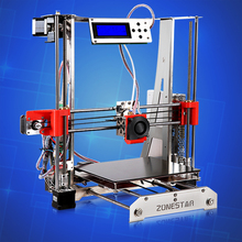 Full Metal 3d printer DIY Kit Reprap Prusa i3 Stainless Steel Open Source 3d-priner 2Roll Filament Bowden Extruder Free Shipping