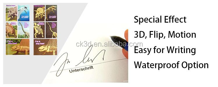 Personalizado 4 cor informações da empresa apresentar cartas de baralho de plástico