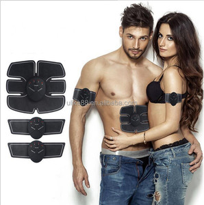 2018 best sold Muscle Toner, Abdominal Toning Belt EMS ABS Toner Body Muscle Trainer Wireless Portable Unisex Fitness Training