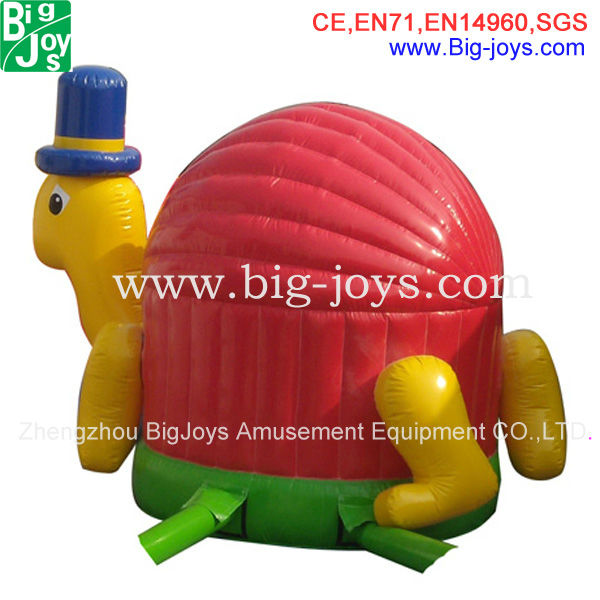 lovely inflatable bouncer,inflatable turtle jumping,animate bouncer for sale 2014