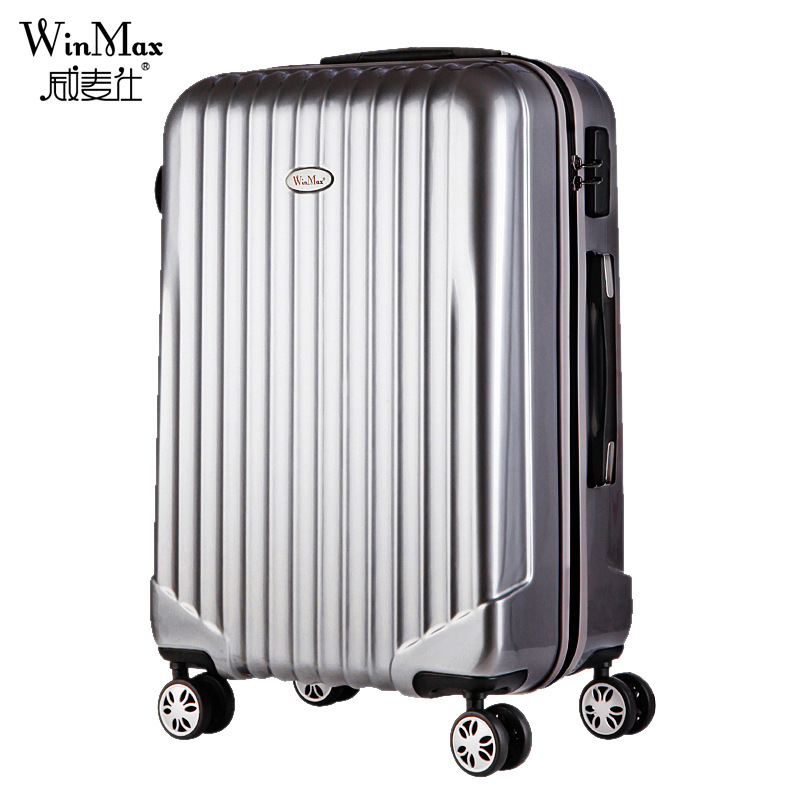 47cda5708 Get Quotations · 20 24 Inch Travel Suitcase Spinner wheel ABS Travel  Suitcase Trolley Case Hardside Luggage Trolley Suitcase