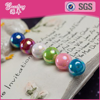 Landing wholesale 10mm round custom printed beads beads for jewellery