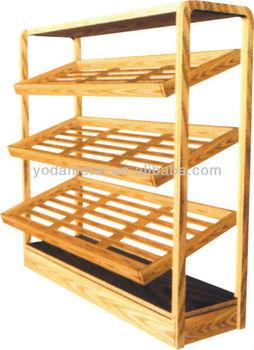 Bread Racks Buy Cake Standwooden Bread Rackbread Display Rack Product On Alibabacom