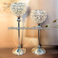 crystal candle holders centerpieces for weddings