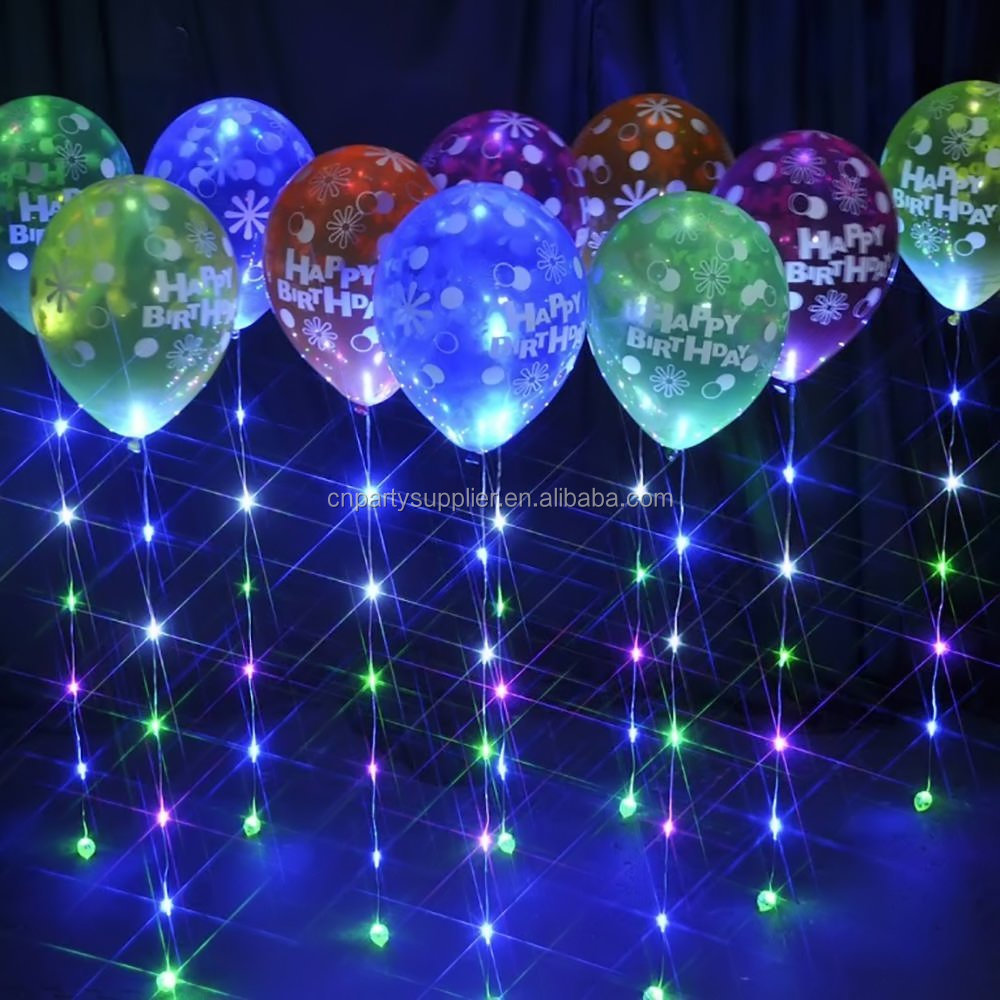 Led Brillo Globo Cinta Con 6 Luces Led Suministros De