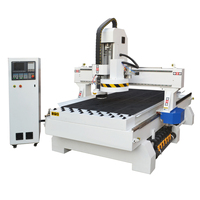 Smart 3 axis ATC automatic 3d wood carving cnc router with automatic tool changer 1325