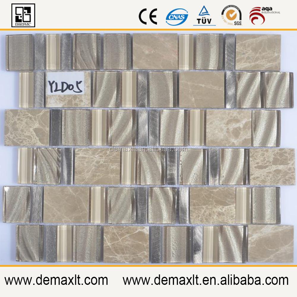 Mengen materialen geometrische vloertegels 30x30mm rode kleur ...