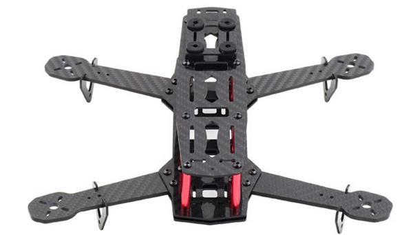 Carbon Fiber Mini 250 FPV Quadcopter Frame KIT RC DRONE 58G TX RC732