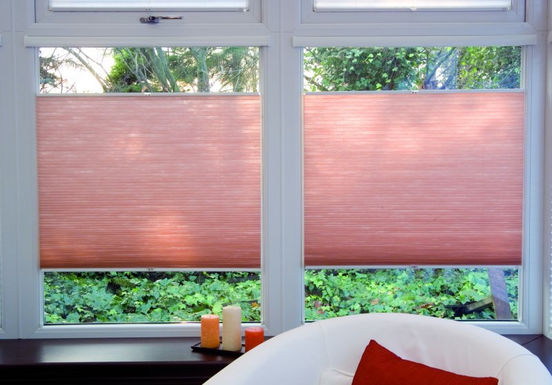 Afholte daylight and blackout classic pleated blind plisse curtain, View RO-77