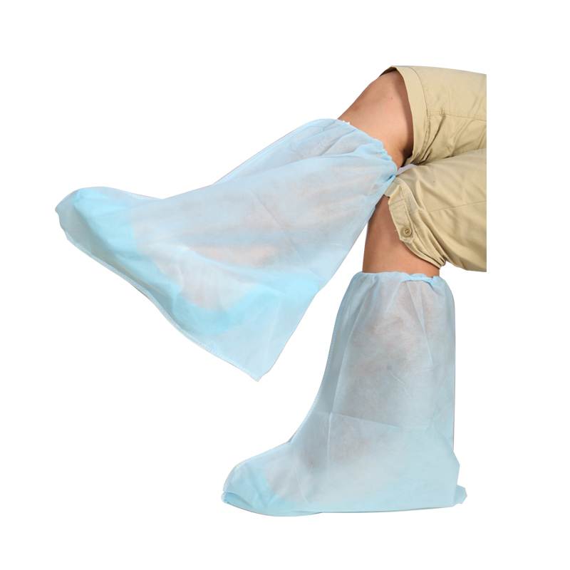 Nonwoven disposable PP boot cover anti slip for clean room lab