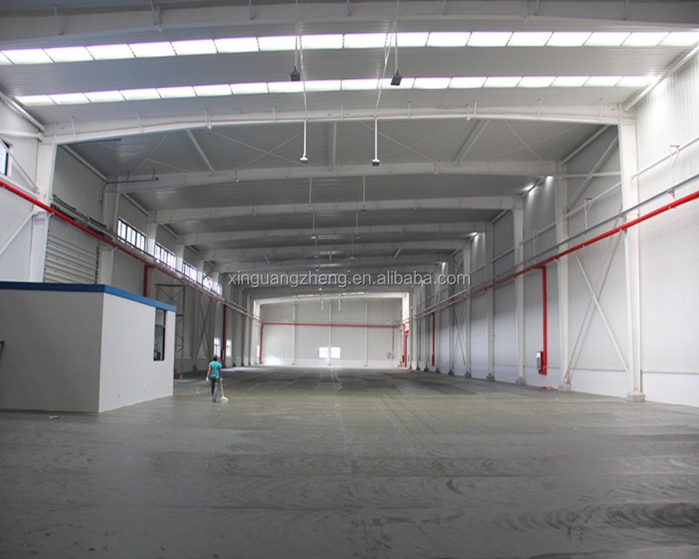 China Qingdao cheap steel structure building prefabricated insulated steel warehouse