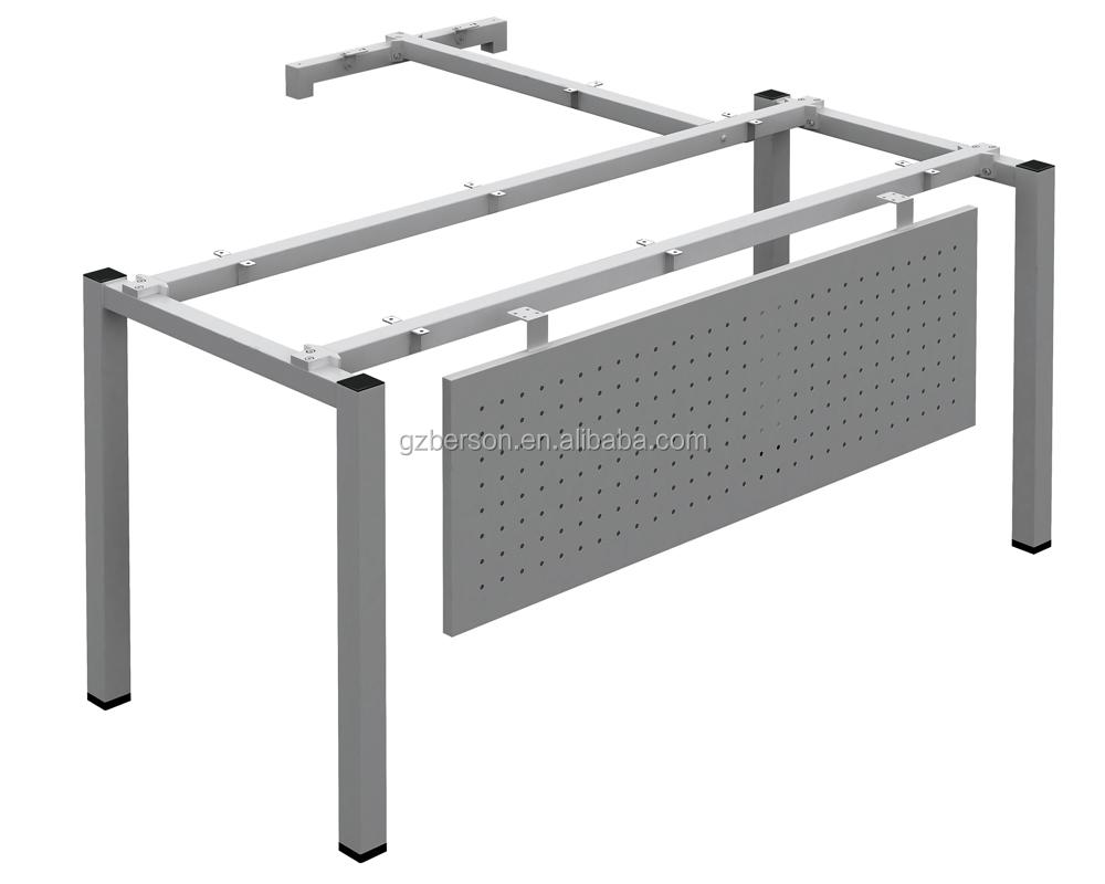 Metal steel office furniture table leg designs