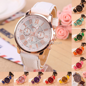 cheap cost colors geneva watch analog lady watch geneva watch