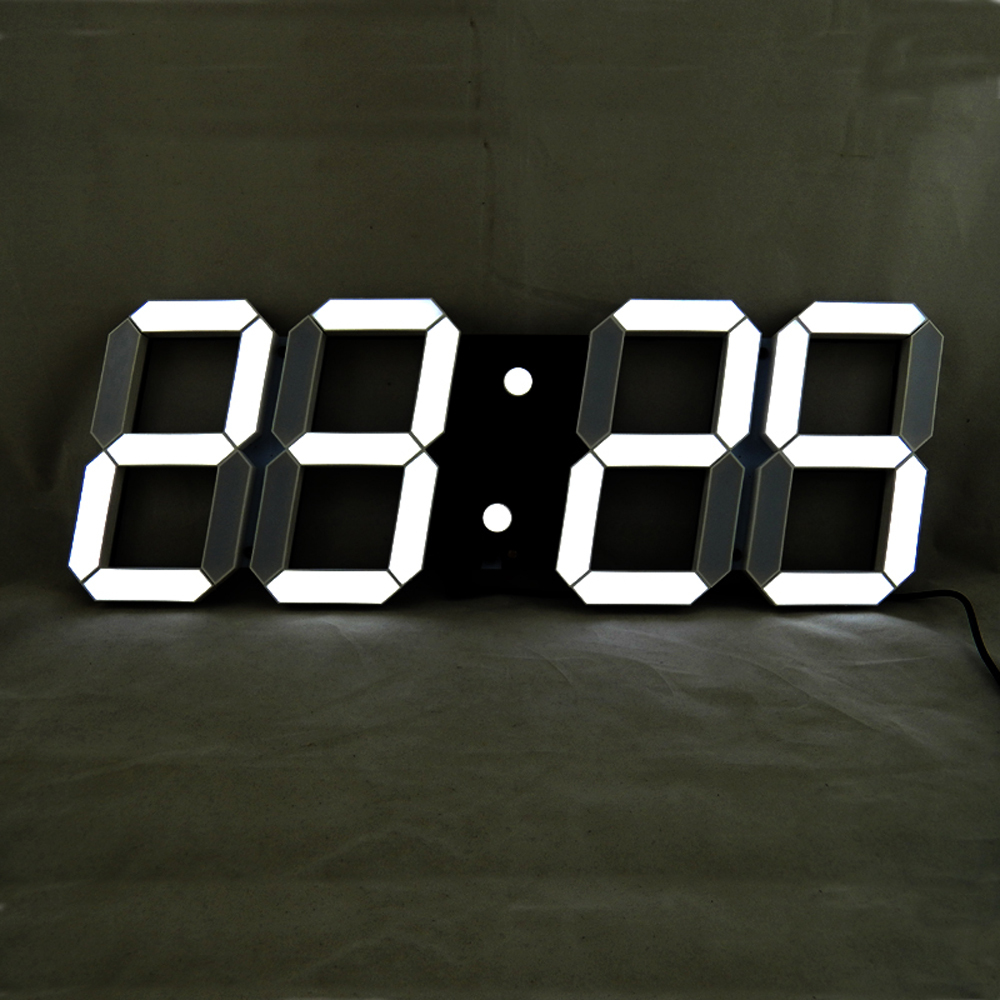 Remote Control Large LED Digital Wall Clock Modern Design ...