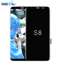 2017 New arrival best price for samsung Galaxy s8 lcd display assembly replacement