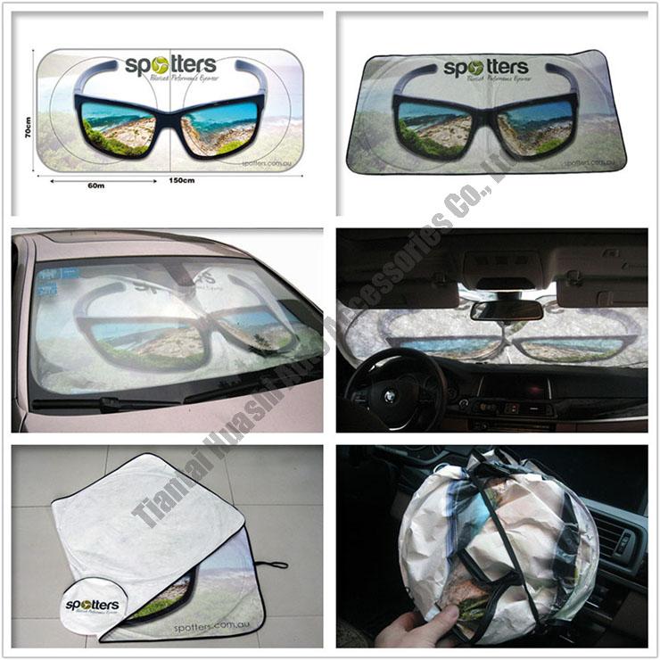 Nieuwigheid window zonneschermen voor auto's