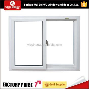 Elegant Pvc Window Good Quality Office Sliding Windows
