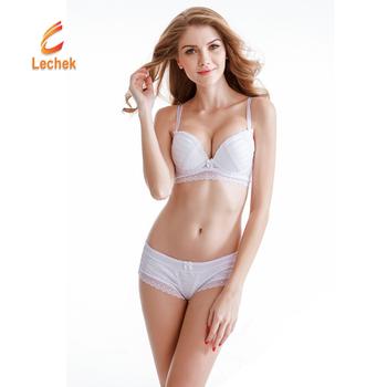d90b5b30e1e0f Fancy Female Underwear Women Bra Set Embroidery Sexy transparent lace bra  and panty set plus size