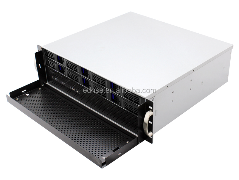 Ed308h40-d Compact 8 Bay Hot Swap 3u Pc Server Case