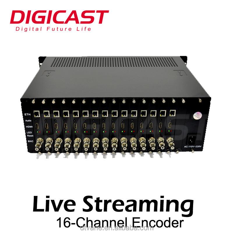 Streaming To Wowza Server Fms Server Hd H 264 16 Ch Hd Mi Iptv Encoder -  Buy Iptv Encoder,Hdm I Iptv Encoder,Hd H 264 16 Ch H Dmi Iptv Encoder  Product