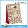 2015 Custom Logo Printed Fashion colorful wine paper gift bag new design for iphone case