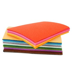 40 pcs DIY Polyester Felt Fabric Cloth Thickness Handmade Sewing Home Decor Hot Sale