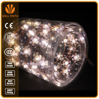CE,UL,ROHS Standard 10m 100 LED Wedding Christmas Decoration String Bubble Light Manufacture