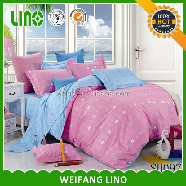 super single bed sheet/germany of bedding/double sided bed sheets