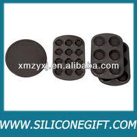 FDA/LFGB Standard 6 & 12 Cup Muffin Pans silicone baking mold/bakeware