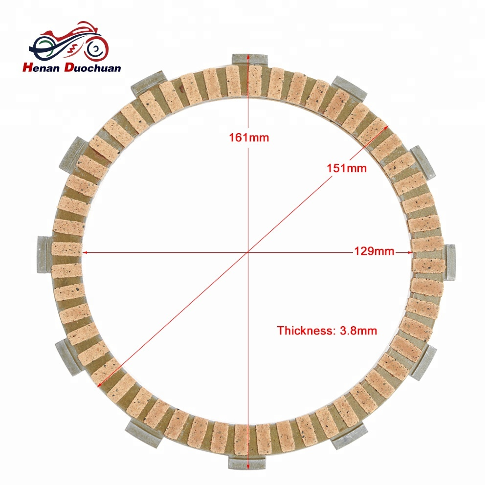 750cc 1100cc 1300cc 1800cc Motorcycle Clutch Plate For Honda Cb750 Vtx 1800 Engine Diagram 38mm 5