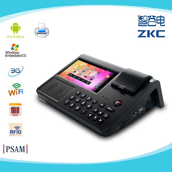 Mobile Nfc Pos Android With Credit Card Reader/printer/scanner ...