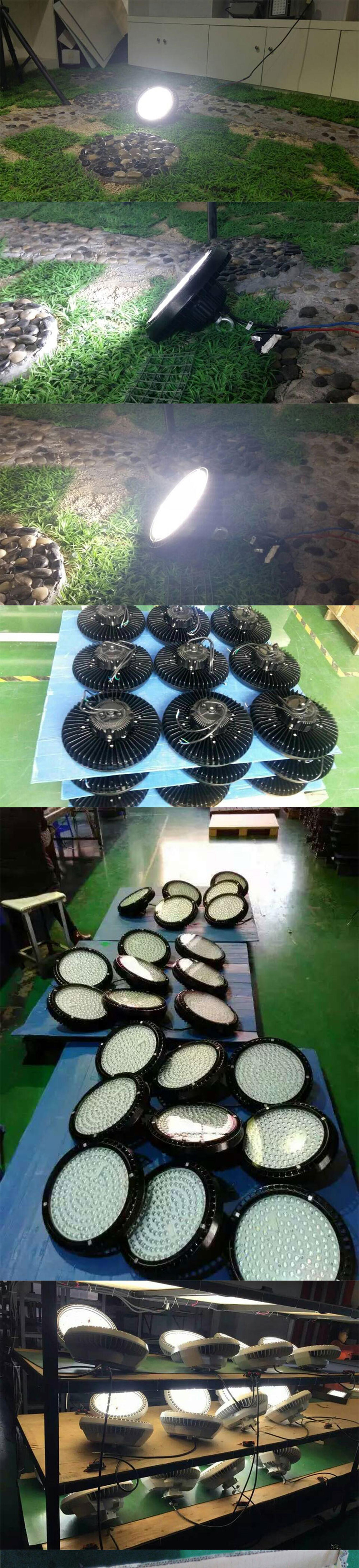 ETL DLC Explosion Proof Top Quality High Luminous Efficiency 100W 120W 150W 300W SMD LED UFO Highbay High Low Bay Light