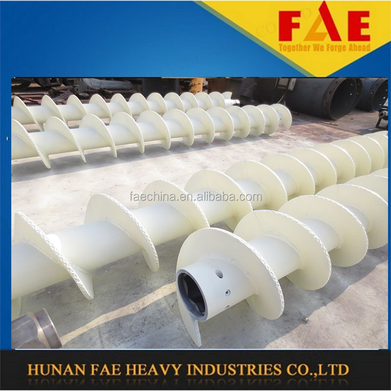 FAECHINA-continuous flight auger casing range B180 use twist auger CFA continuous flight auger