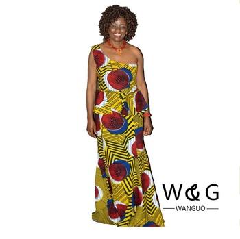 Formal African Print Midi Dress