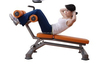 Adjustable Abdominal Bench Fitness Equipment/curved Sit-up Bench/indoor gym equipment