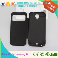 Wholesale alibaba china supplier 2200mah external rechargeable battery case mobile power supply for samsung galaxy s4 mini