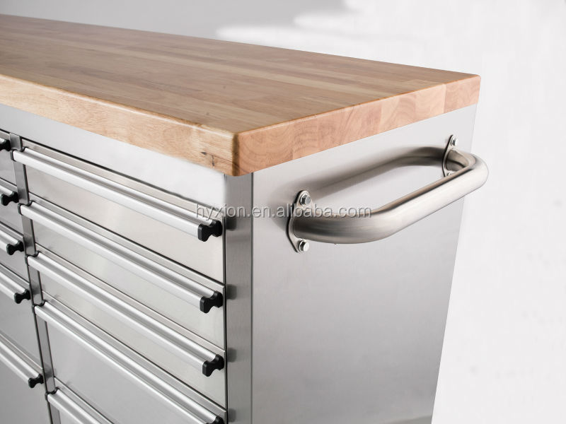 Metal Drawers Parts Cabinet Steel Workshop Tool Box Roller Cabinet ...