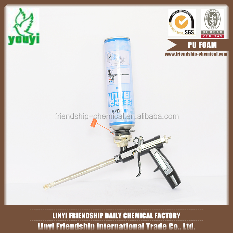 Aerosol cans fireproof pu foam for filling and sealing expanding spray polyurethane foam