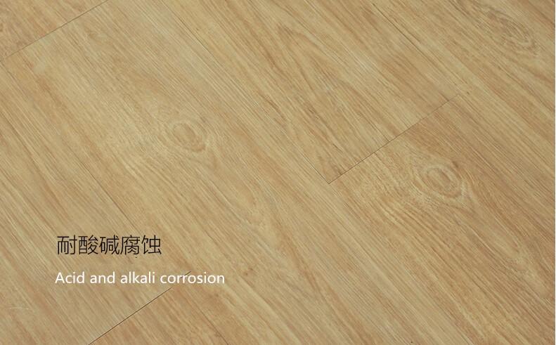 Moderne luxe vinyl plank plastic houten plank vloeren pvc vloeren