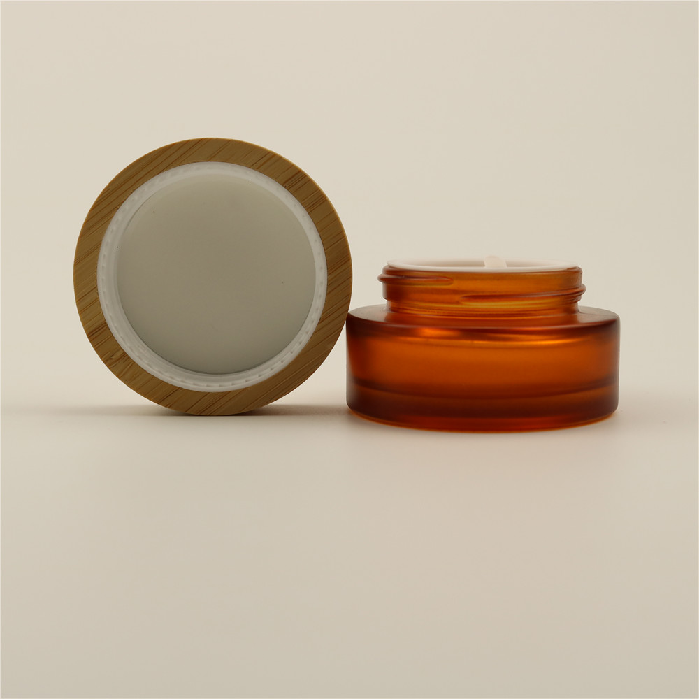 24/410Natural Bamboo Lid Wooden Screw Cap For Cosmetic Bottle Eco-friendly Cosmetic Caps
