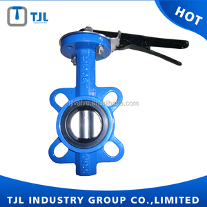 Wafer type 4 inch butterfly valve